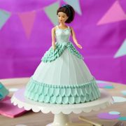 Doll-in-Blue-Dress-Cake